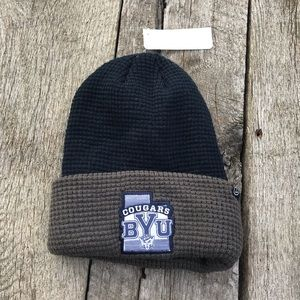 Brigham Young University Cougar Waffle Knit Beanie